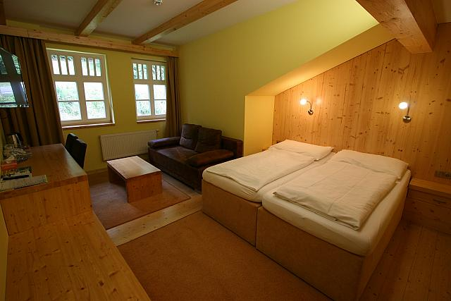 Dvoulůžkový pokoj LUX