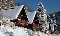 Bungalovy v zimě