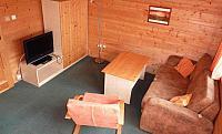 Obývací místnost bungalovu