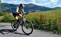 Lysá cyklista