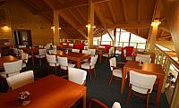 Podkroví golfové restaurace