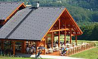 Venkovní terasa restaurace