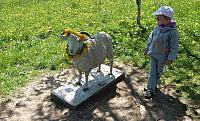 Památník ovce valašky na Gruni