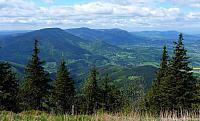 Výhled z vrcholu