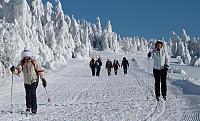 turisté na běžkách