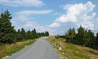 Oblíbená hřebenová trasa na Radhošť