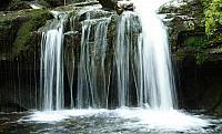 Velký vodopád na Satině