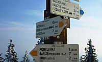 vrcholový rozcestník