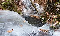 Ledová vana na Satině