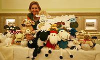 paní majitelka s ovečkami