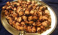 švestky v anglické slanině