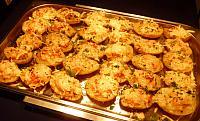 zapékané brambory se sýrem